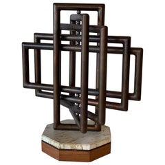 Kinetic Sculpture Noted Artist Dennis Stewart