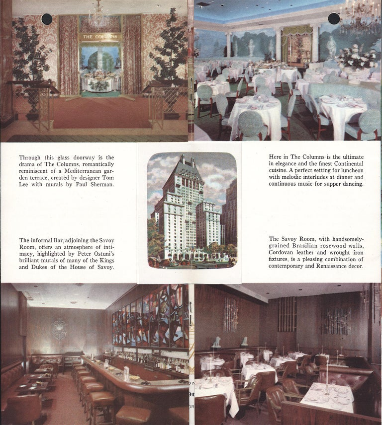 Mid-20th Century King Arthur Mural (16' x 6') by Peter Ostuni for Savoy-Plaza Hotel 1951 For Sale