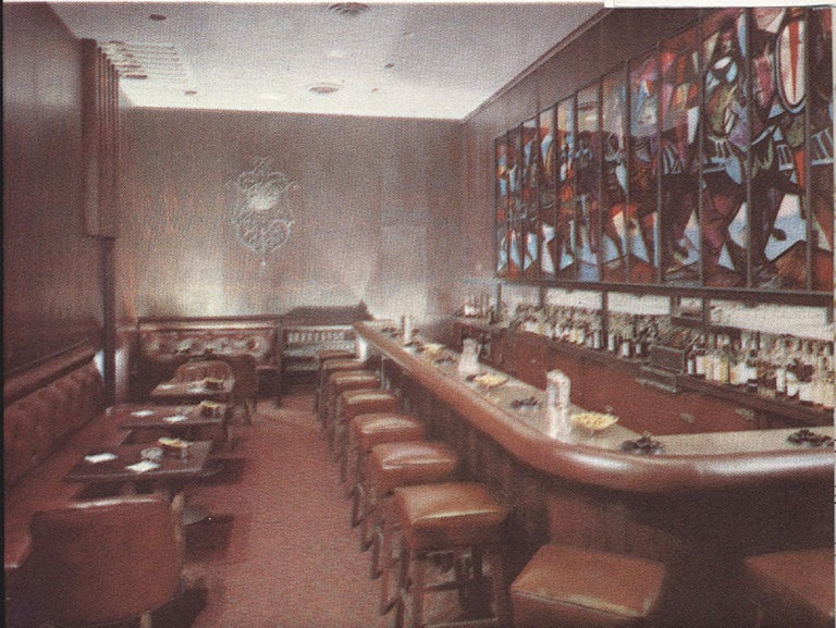 Plexiglass King Arthur Mural (16' x 6') by Peter Ostuni for Savoy-Plaza Hotel 1951 For Sale