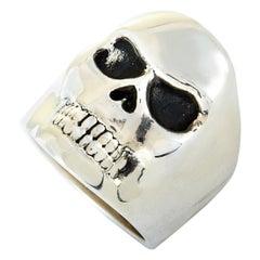 King Baby Sterling Silver Skull Ring