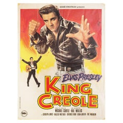 King Creole R1978 French Grande Film Poster