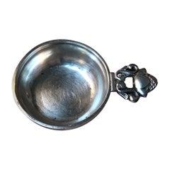 'King Cutlery' Caviar Spoon in Silver by Georg Jensen, 1940s