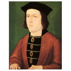 King Edward IV Authentic Strand of Hair, 15th Century