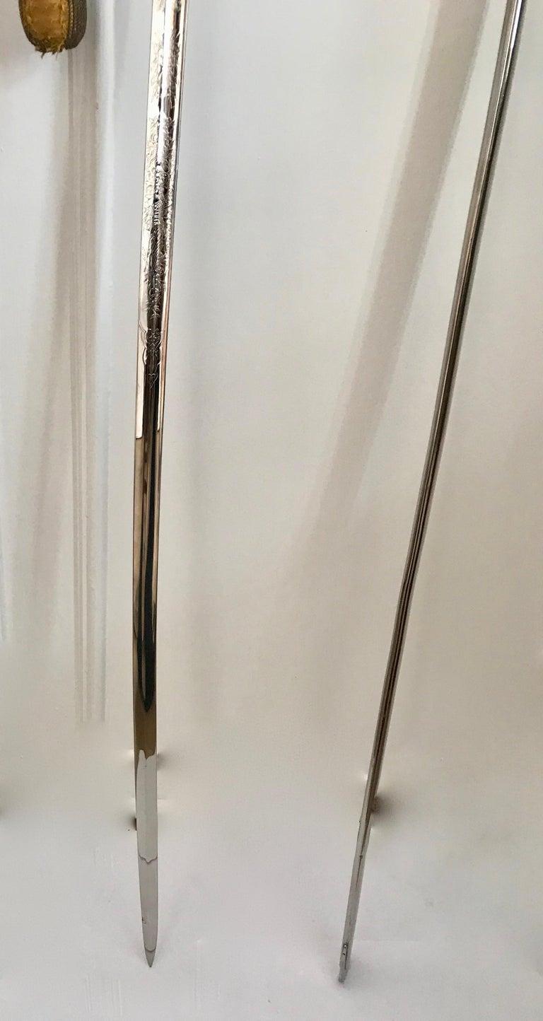 King Håkon VII of Norway Sabre Sword For Sale 5