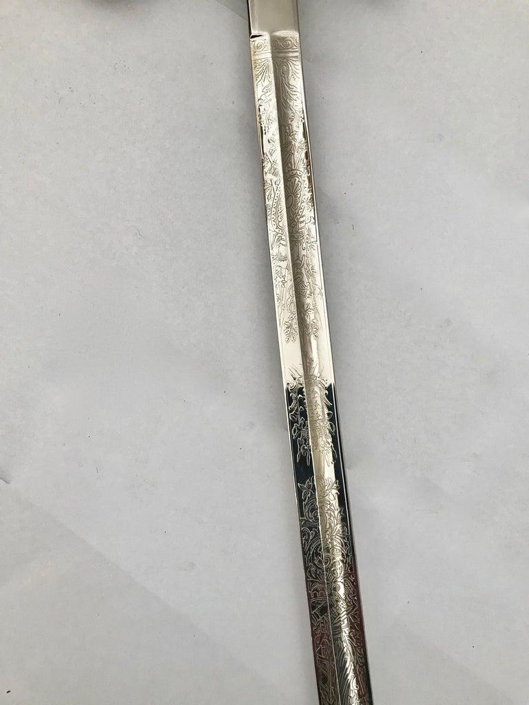 King Håkon VII of Norway Sabre Sword For Sale 6