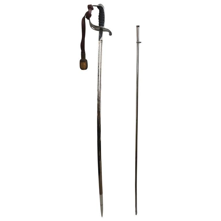 King Håkon VII of Norway Sabre Sword For Sale