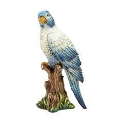 King High Parrot Sculpture