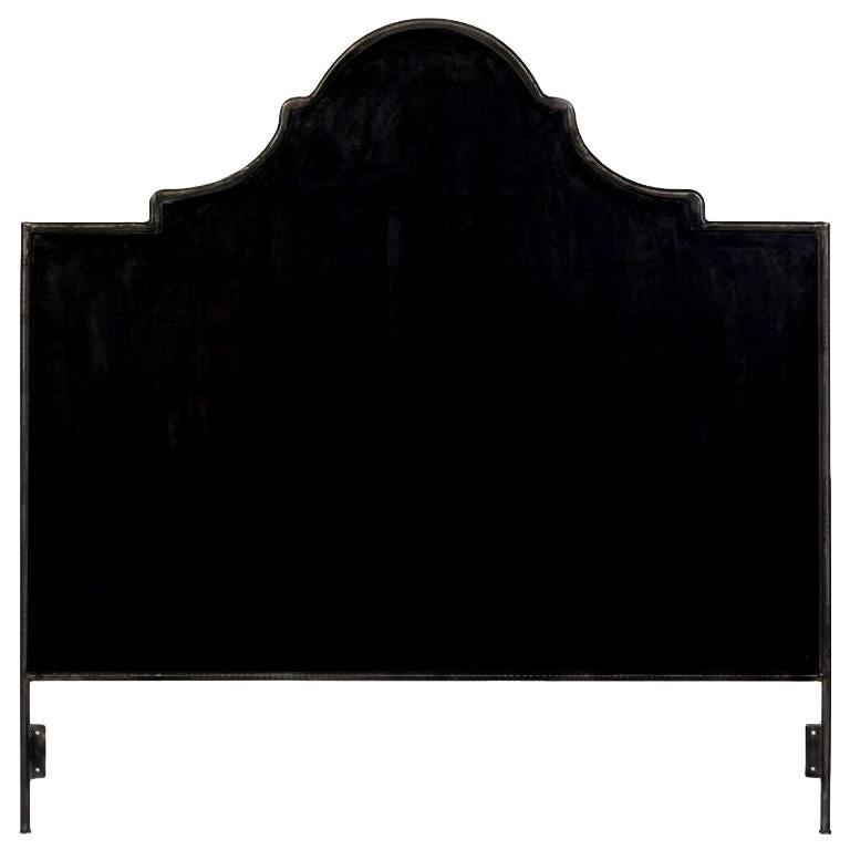 King Iron Venetian Headboard For Sale