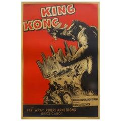 King Kong '1950r' Poster