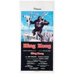 King Kong 1976 Italian Locandina Film Poster