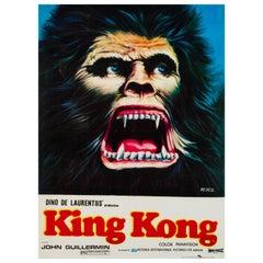 King Kong Original Pakistani Film Poster, 1981