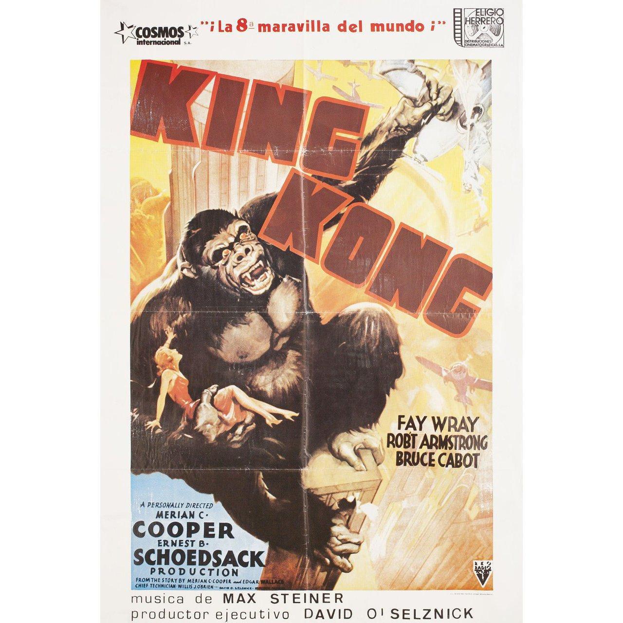 King Kong R1982 Spanish B1 Film Poster