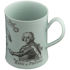 King of Prussia Mug, Worcester, circa 1757