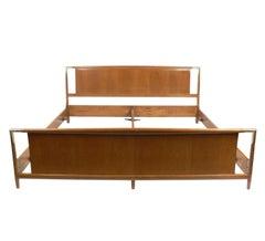 King Size Bed Designed by T.H. Robsjohn Gibbings