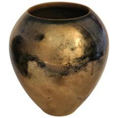 King Size Enameled Ceramic Vase