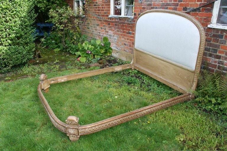 19th Century King Size French Bed For Sale