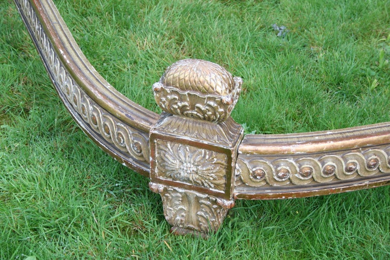 Beech King Size French Bed For Sale