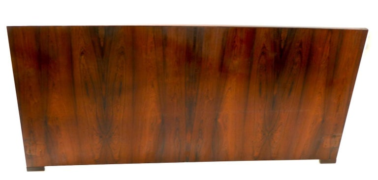 20th Century King Size Headboard by Dyrlund in Rosewood For Sale
