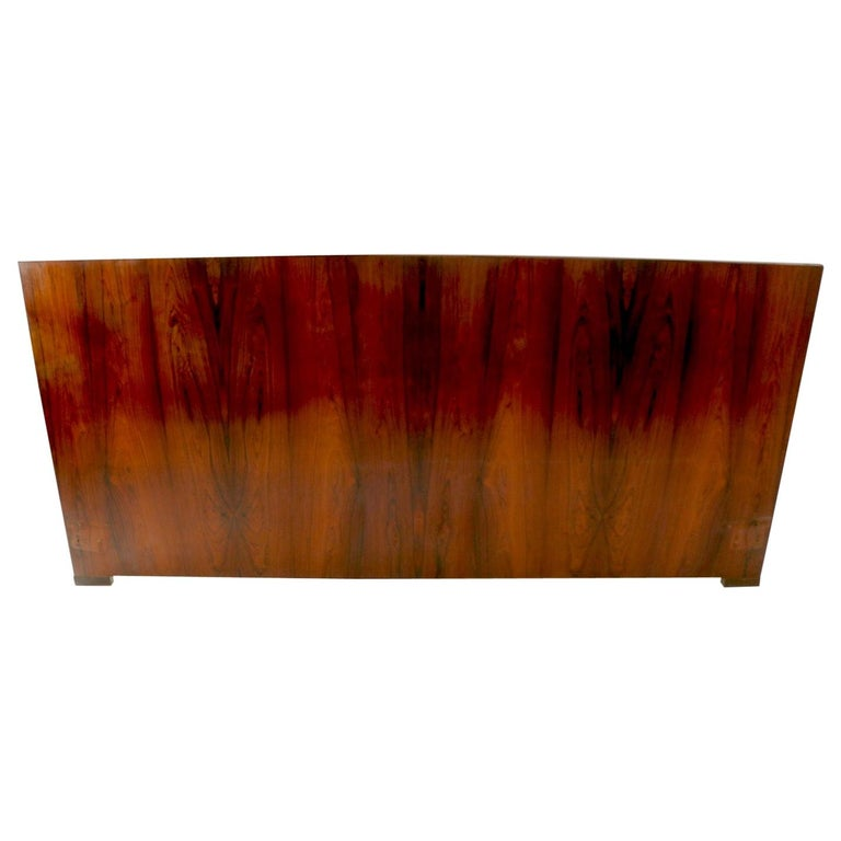 King Size Headboard by Dyrlund in Rosewood For Sale