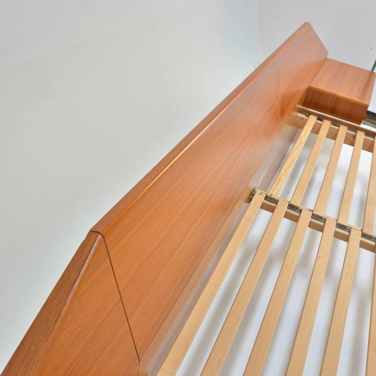 King Size Platform Bed by Danish Modernist Laurits M Larsen For Sale 4