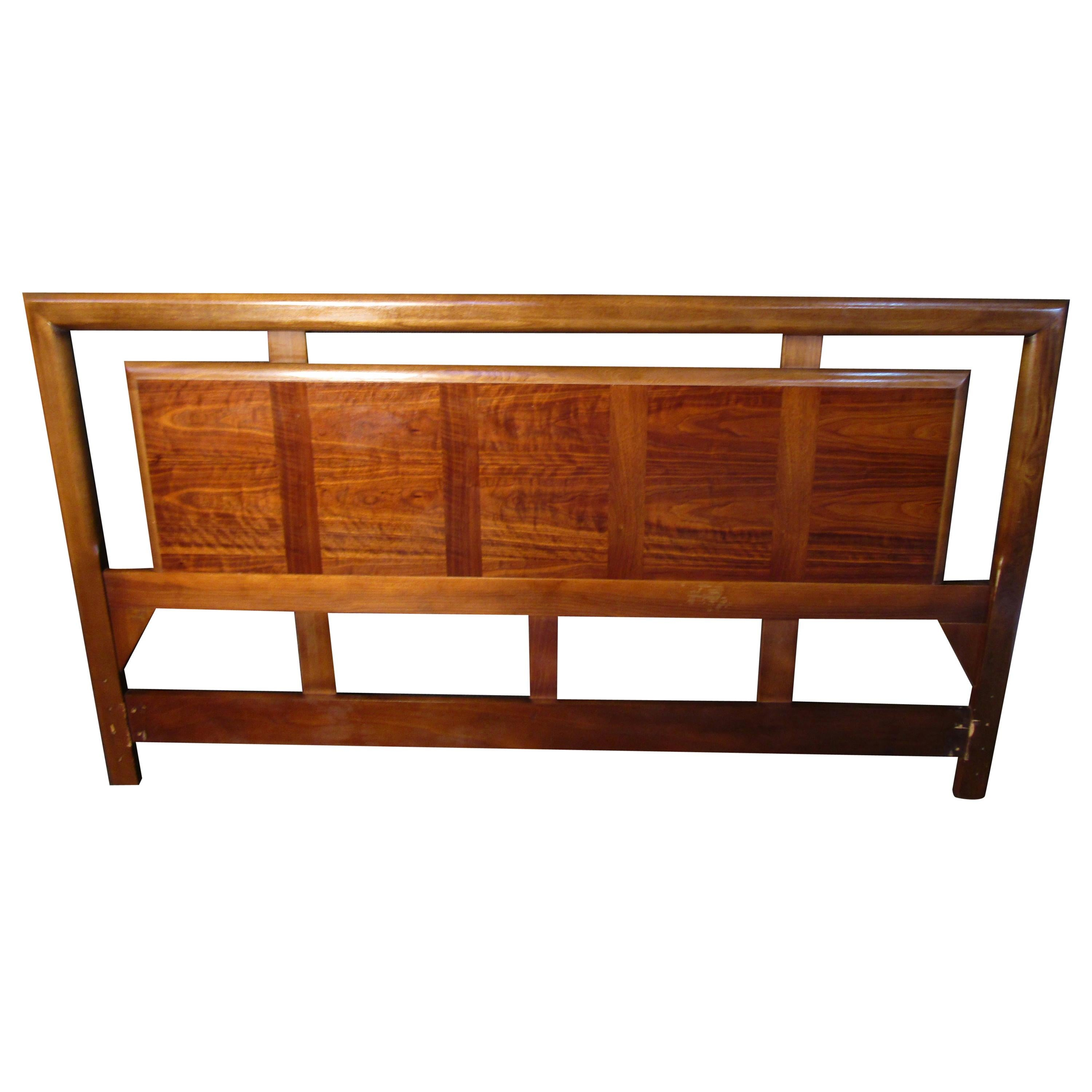 King Size Walnut Headboard