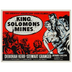 King Solomon's Mines Original UK Film Poster, 1950