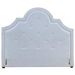 King Tufted Upholstered Headboard