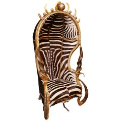 King Zebra Dome Armchair