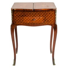 Kingwood Marquetry Vanity Table