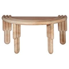 Kipferl Desk by Lara Bohinc in Marble