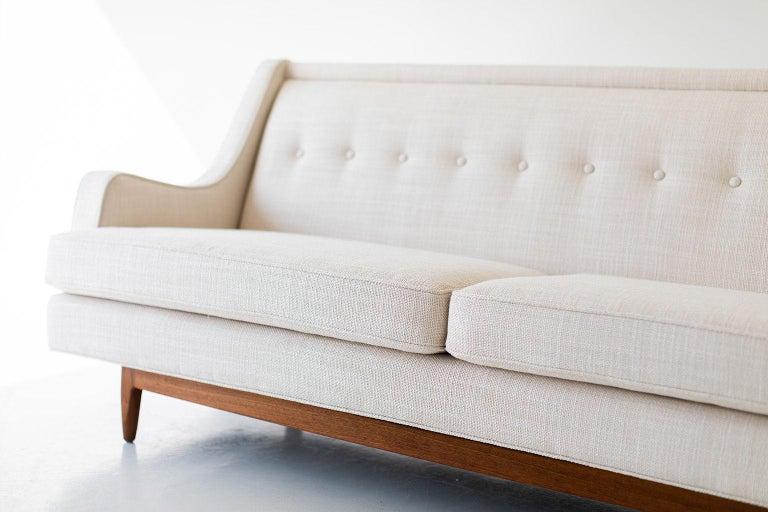 Mid-Century Modern Kipp Stewart and Stewart MacDougall Sofa for Drexel For Sale