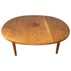 Kipp Stewart, Drexel Declaration Cocktail Table, Brazilian Rosewood Inlay