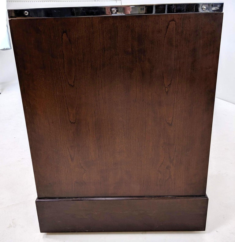 Kipp Stewart for Directional Special Order Campaign Desk, 6400-B For Sale 3