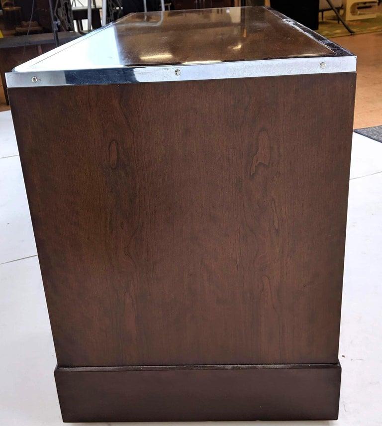 Kipp Stewart for Directional Special Order Campaign Desk, 6400-B For Sale 5