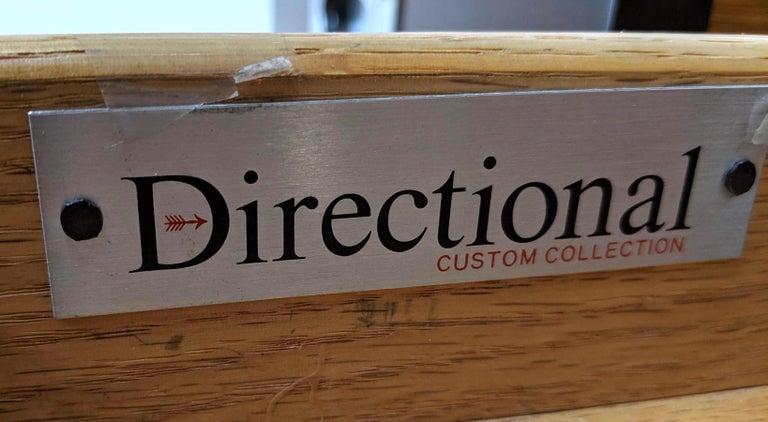 Kipp Stewart for Directional Special Order Campaign Desk, 6400-B For Sale 7