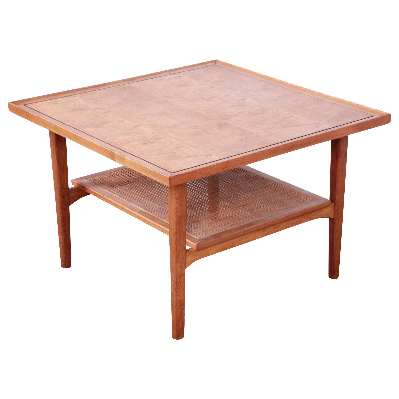 Kipp Stewart for Drexel Declaration Walnut Coffee or Occasional Table, 1958