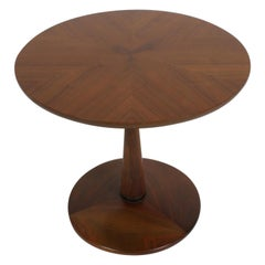 Kipp Stewart for Drexel Mid-Century Modern Declaration Walnut End or Side Table