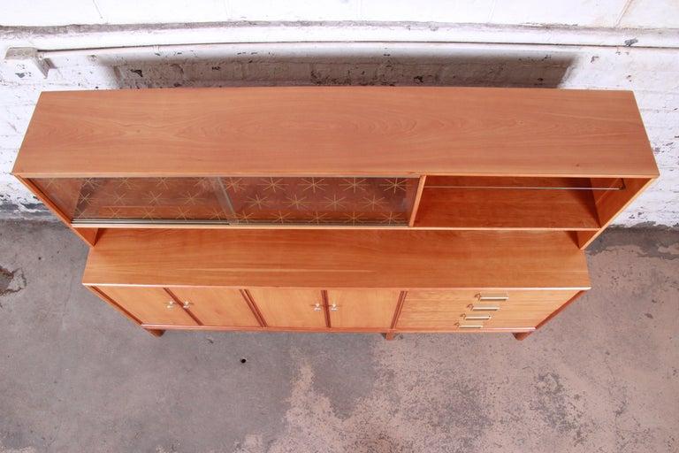 Kipp Stewart for Drexel Sun Coast Cherrywood Sideboard Credenza, 1959 For Sale 3