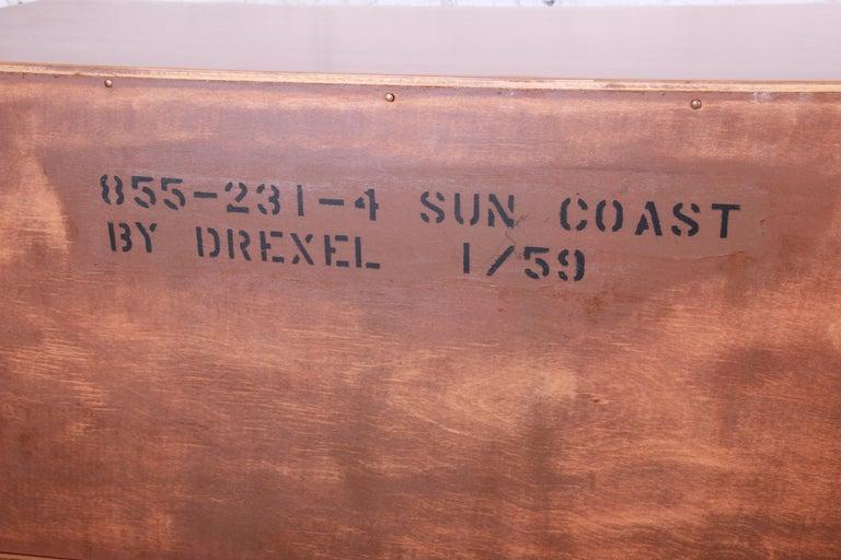Kipp Stewart for Drexel Sun Coast Cherrywood Sideboard Credenza, 1959 For Sale 5