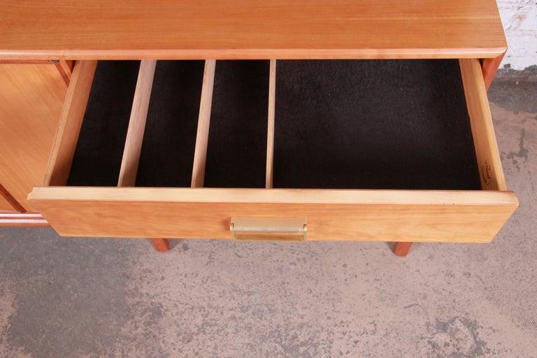 Kipp Stewart for Drexel Sun Coast Cherrywood Sideboard Credenza, 1959 For Sale 1