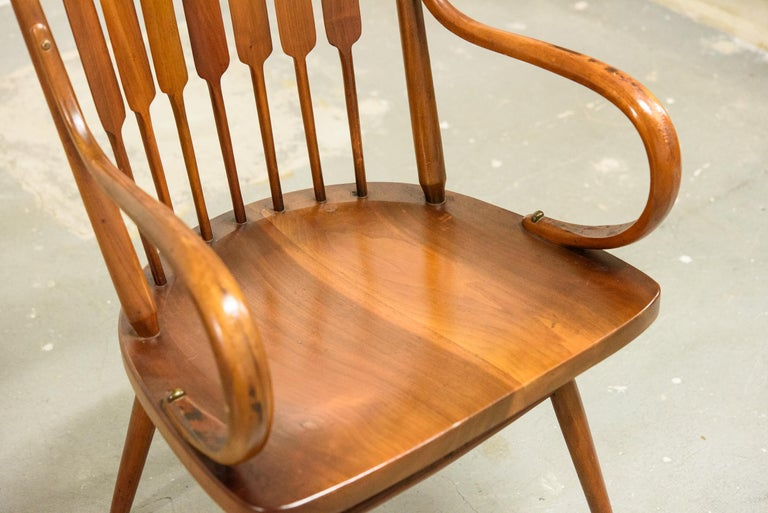 Kipp Stewart Set of Six Centennial Dining Chairs for Drexel, 1950s, Signed For Sale 6