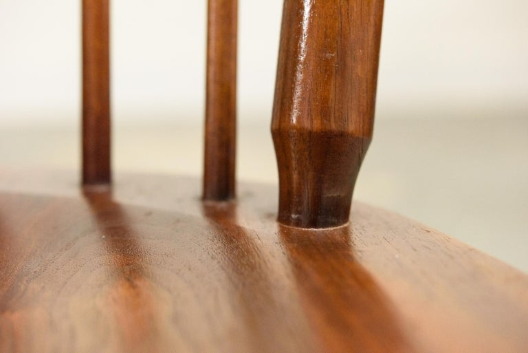 Kipp Stewart Set of Six Centennial Dining Chairs for Drexel, 1950s, Signed For Sale 7