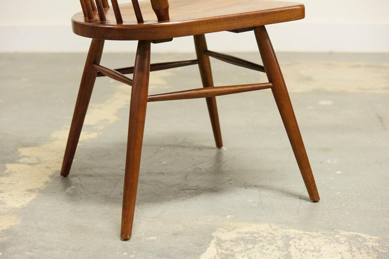 Kipp Stewart Set of Six Centennial Dining Chairs for Drexel, 1950s, Signed For Sale 11