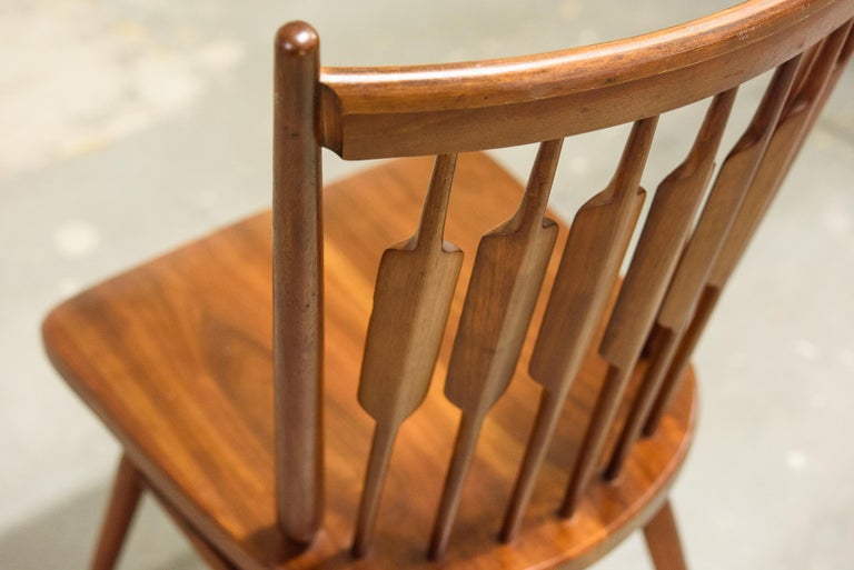 Kipp Stewart Set of Six Centennial Dining Chairs for Drexel, 1950s, Signed For Sale 12