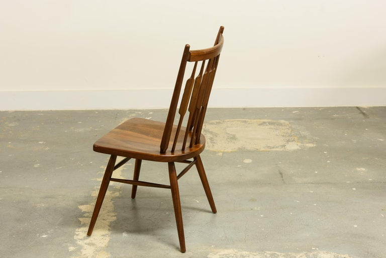Mid-20th Century Kipp Stewart Set of Six Centennial Dining Chairs for Drexel, 1950s, Signed For Sale