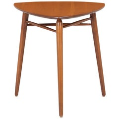 Kipp Stewart Tri-Leg Side Table for Winchendon Furniture