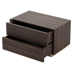 Kira Bedside Table, Portuguese 21st Century Contemporary Bedside Table