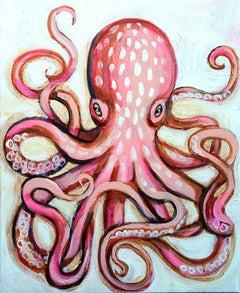 Pale Octopus, Original Painting