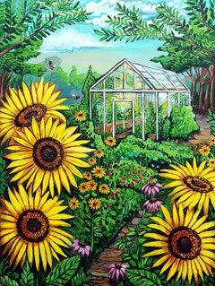 The Greenhouse, Original Painting