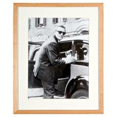 Kirk Douglas 1960s Paparazzi Black and White Photo